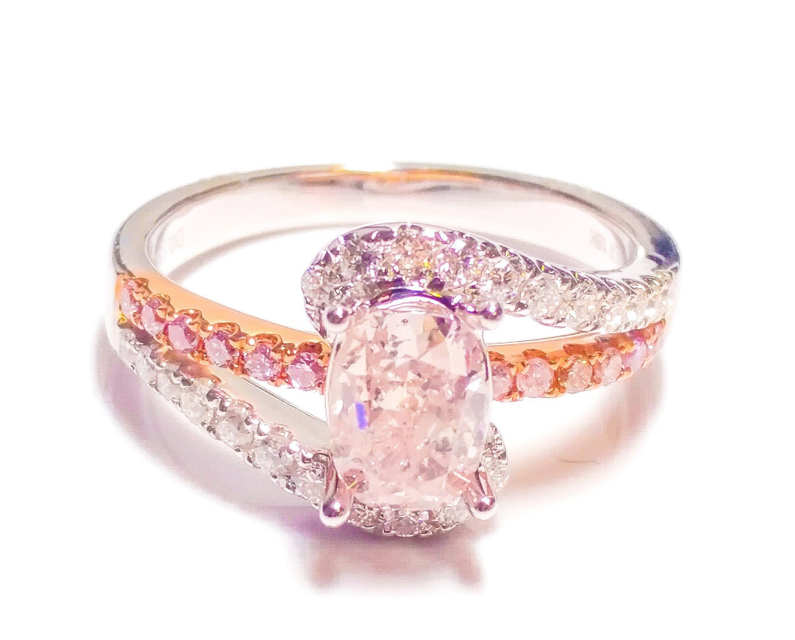 Fancy Pink Diamond Ring: Natural Fancy Pink Diamonds & Jewelry ...