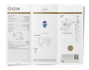color diamond certificate