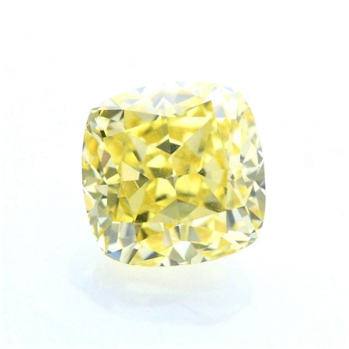 Yellow Diamond - 1.16ct Natural Loose Fancy Yellow Canary Diamond GIA VVS2