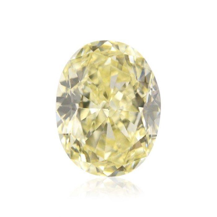 Yellow Diamond - 2.00ct Natural Loose Fancy Light Yellow Canary Diamond GIA VS1