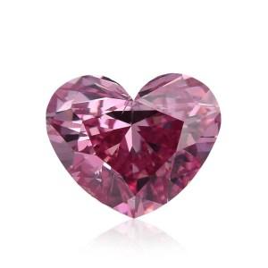 heart shape pink diamond