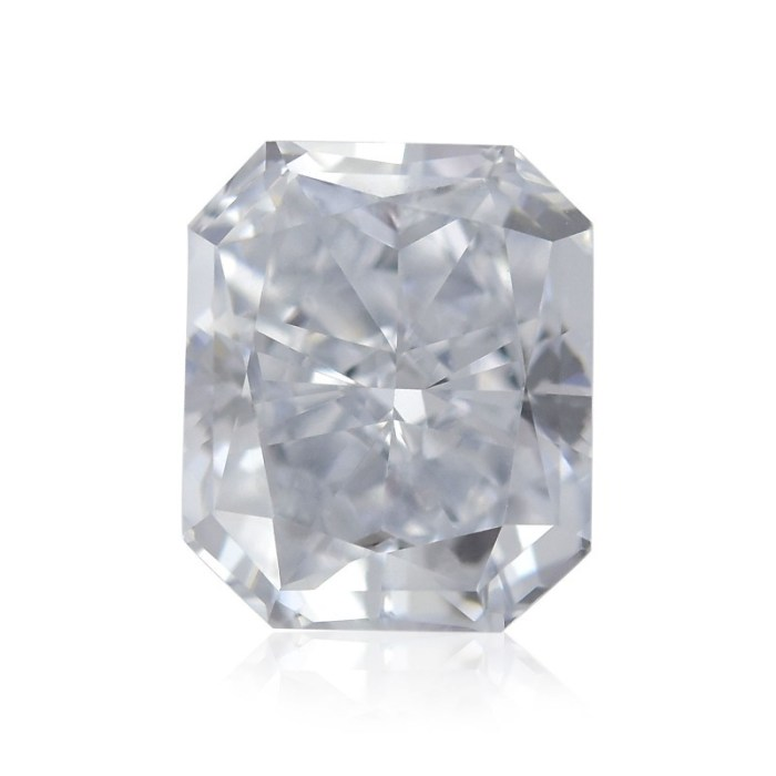 0.34ct Natural Loose Fancy Light Blue SI1 Radiant GIA Certified