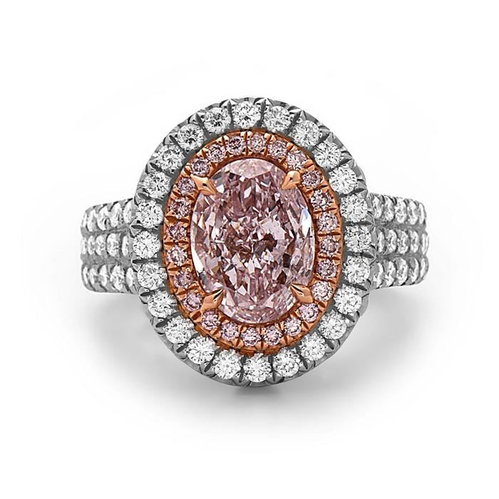 The Most Popular Diamond Engagement Ring Type:  Pink Diamond Engagement Rings