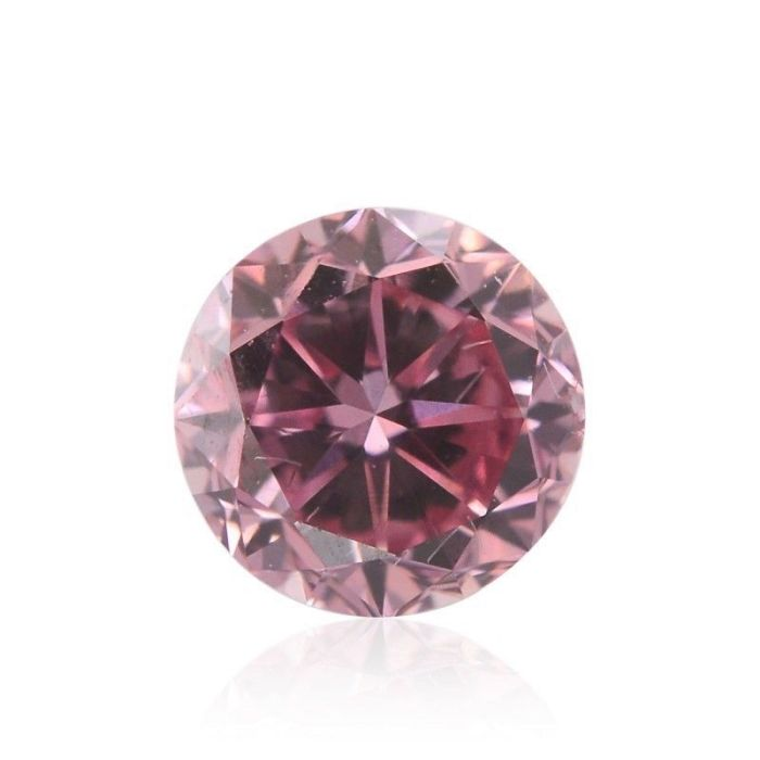 Real 0.17ct Natural Loose Fancy Purple Pink Color Diamond GIA Round Argyle SI2