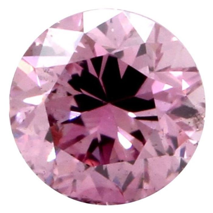 Real 0.22ct Natural Loose Fancy Intense Purple Pink Color Diamond GIA Round