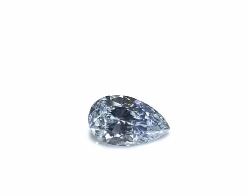 Real 0.33ct Natural Loose Fancy Light Blue Color Diamond GIA Certed Pear Shape