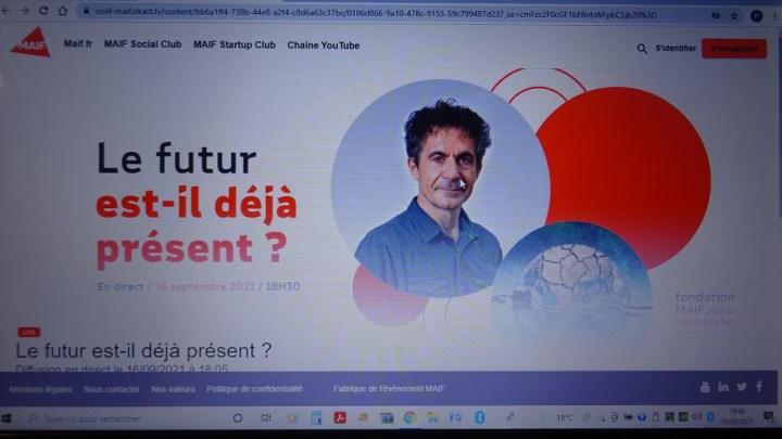 Étienne Klein « Le futur est-il déjà présent ? »