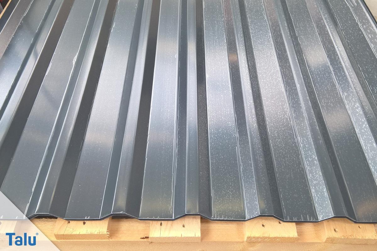 unterkonstruktion trapezblech garage simple shingle roofing repairs modernize. Black Bedroom Furniture Sets. Home Design Ideas