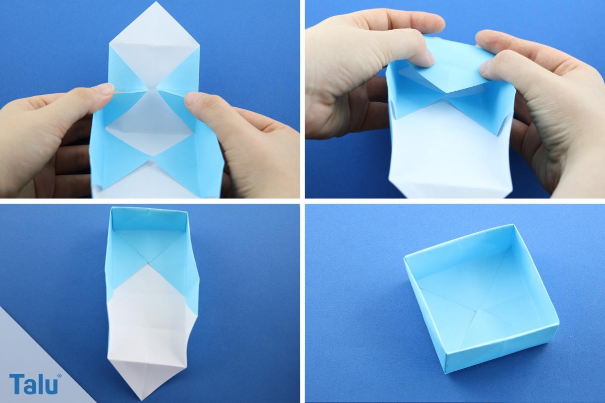 papierschachtel falten haus basteln papier vorlage abbild ausmalbilder ideen. Black Bedroom Furniture Sets. Home Design Ideas