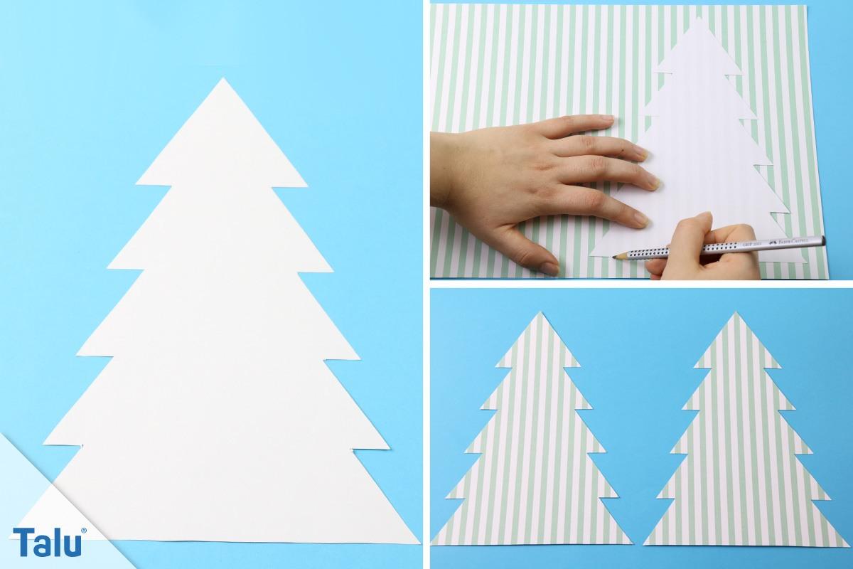 Tannenbaum Aus Papier Basteln Javantop