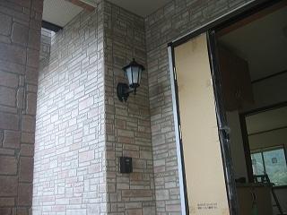 玄関ポーチ灯