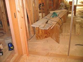 大工さんの作業台