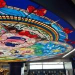 京王多摩センター駅がサンリオ仕様に!