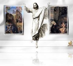 ++المسيح تحرر من رُبُطِ القبر، فتحرروا…..