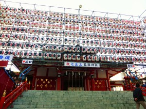花園神社(11月の大酉祭より)