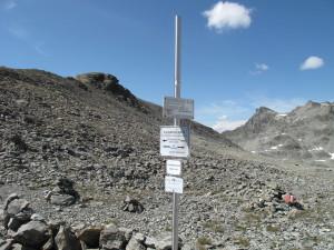 2636 m: Schafbicheljoch