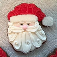 Tamala's Honey Gingerbread Santa cookie