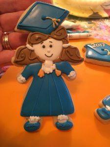 Girl Graduation Cookie