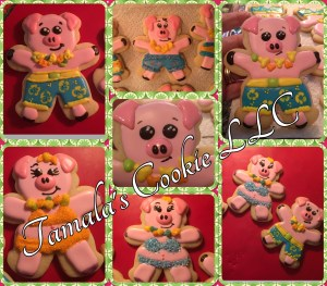 Party Pig Cookie