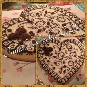 Keepsake Heart Cookie