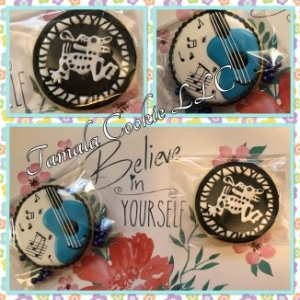 Caifanes M.C. Rock Band Cookies