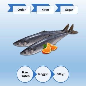 Ikan Tenggiri Beku (Frozen) Taman Air Surabaya 500 gr
