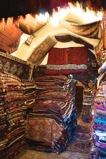 A lot of rugs