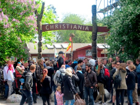 Christiana Entrance