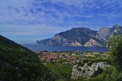 Climbing north from Garda