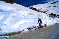 Climbing above the snow line