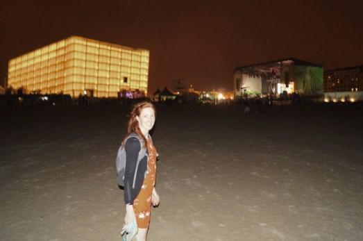 "Jazzaldia festival on the ""New City"" beach"