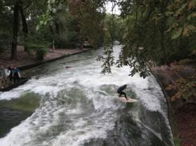 Surfing the Weir