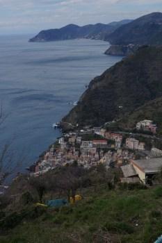 Departing Riomaggiore