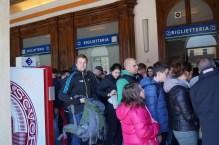 In line at La Spezia