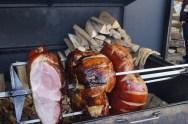 Huge portions of ham