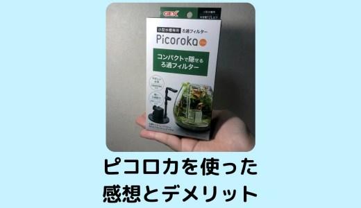 【期待しすぎた?】ピコロカ(Picoroka)を使った感想と見つけたデメリット