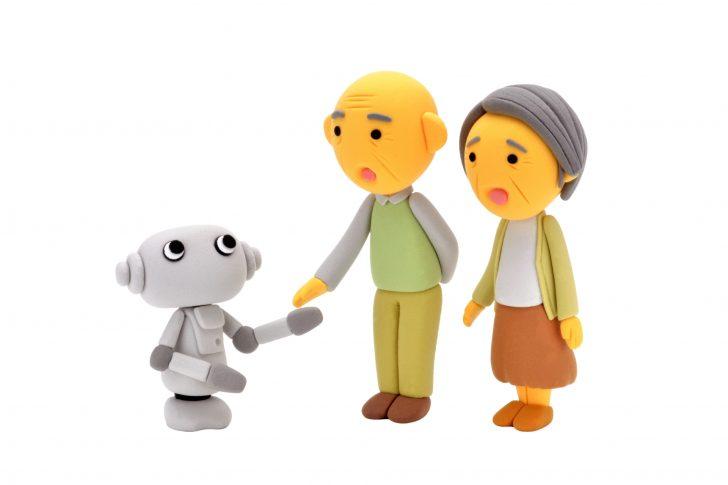 ロボットと高齢者