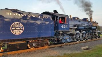 1928 Baldwin 425 Steam Engine, Locomotive, Tamaqua Train Station, Tamaqua (121)