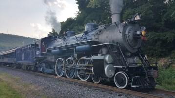 1928 Baldwin 425 Steam Engine, Locomotive, Tamaqua Train Station, Tamaqua (2)