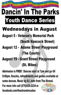 8-19-2015, Dancin' In The Park, Youth Dance Series, Grant Street Playground, McAdoo