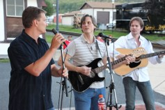Amanda & Me perform, as part of Chamber Summer Concert Series, Train Station, Tamaqua (88)