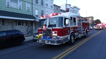 Apparatus Parade during Citz Fest, Citizens Fire Company, Mahanoy City, 8-21-2015 (118)