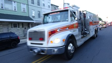 Apparatus Parade during Citz Fest, Citizens Fire Company, Mahanoy City, 8-21-2015 (126)