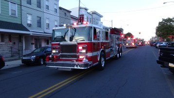 Apparatus Parade during Citz Fest, Citizens Fire Company, Mahanoy City, 8-21-2015 (130)