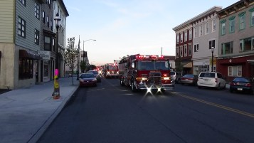Apparatus Parade during Citz Fest, Citizens Fire Company, Mahanoy City, 8-21-2015 (157)