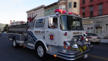 Apparatus Parade during Citz Fest, Citizens Fire Company, Mahanoy City, 8-21-2015 (175)