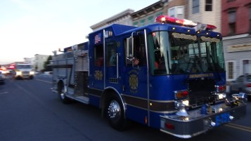 Apparatus Parade during Citz Fest, Citizens Fire Company, Mahanoy City, 8-21-2015 (189)