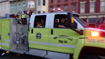 Apparatus Parade during Citz Fest, Citizens Fire Company, Mahanoy City, 8-21-2015 (193)
