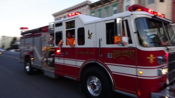 Apparatus Parade during Citz Fest, Citizens Fire Company, Mahanoy City, 8-21-2015 (208)