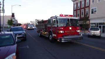 Apparatus Parade during Citz Fest, Citizens Fire Company, Mahanoy City, 8-21-2015 (212)